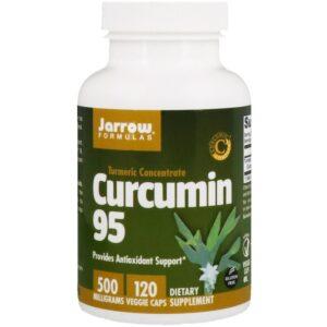 Kurkuma 95, 500 mg, 120 veg.caps, Jarrow Formulas